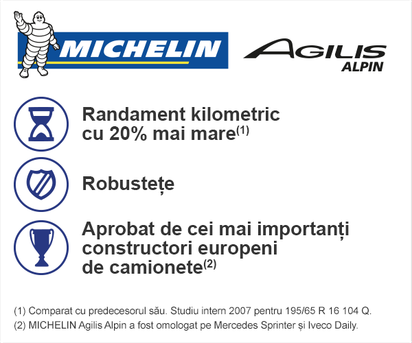 michelin agilis alpin